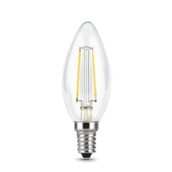 Лампа Gauss LED Filament Свеча E14 11W 750lm 4100К 1/10/50