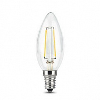 Лампа Gauss LED Filament Свеча E14 11W 750lm 4100К 1/10/50 - Clear